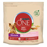 Purina ONE Small Dog -kuivaruoka pienille koirille < 10 kg Delicate