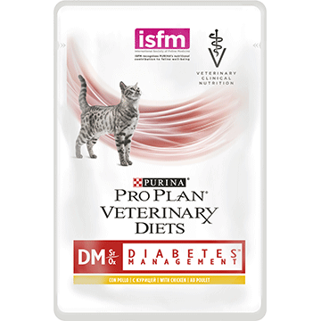 ​PURINA® PRO PLAN® VETERINARY DIETS Feline DM St/Ox Diabetes Management (Kana)