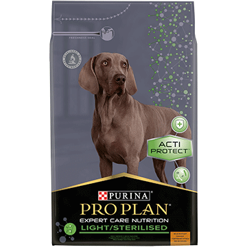 PURINA® PRO PLAN® EXPERT CARE NUTRITION LIGHT/STERILISED