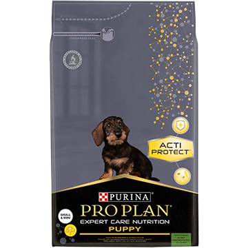 PURINA® PRO PLAN® EXPERT CARE NUTRITION SMALL & MINI PUPPY